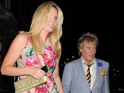 "Rod Stewart's wife rejected Bravo show because she's not a ""Beverly Hills housewife""."