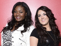 &#39;American Idol&#39;: Season 12 finalists Candice and Kree