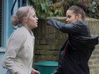 Lauren turns violent with Lucy
