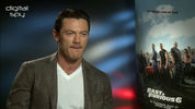 Luke Evans discusses his forthcoming role in 'The Crow' reboot.