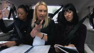 Apprentice series nine: Watch preview - Girls row over flat-pack plans