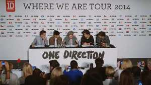 One Direction announce first ever stadium tour