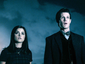 'Doctor Who': Series 7 finale 'The Name of the Doctor': The Doctor and Clara (Matt Smith and Jenna-Louise Coleman)