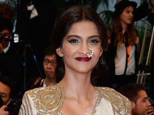 Sonam Kapoor attends the Opening Ceremony and 'The Great Gatsby' Premiere during the 66th Annual Cannes Film Festival