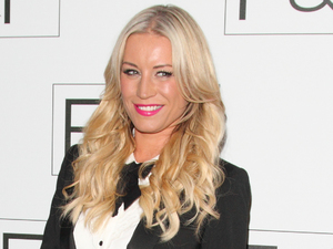 Denise Van Outen, F&F Autumn/Winter 2013 Collection Showcase held at Somerset House, London, suit