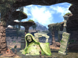 &#39;Final Fantasy XIV: A Realm Reborn&#39; environment screenshot