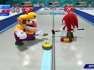 'Mario & Sonic at the Sochi 2014 Olympic Winter Games' screenshot