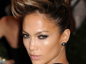 Jennifer Lopez, quiff, 2013 Met Ball, New York