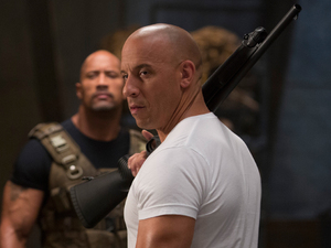 Fast and Furious 6 still Vin Diesel