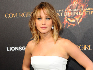 Jennifer Lawrence The Hunger Games photocall.