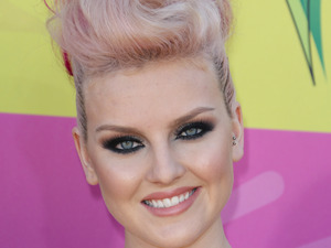 Perrie Edwards, quiff, Nickelodeon's 26th Annual Kids Choice Awards Arrivals, Los Angeles