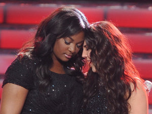 &#39;American Idol&#39; season 12 grand final: Candice and Kree await the result with Ryan Seacrest