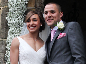 Jessica Ennis marries Andy Hill.