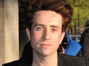 Nick Grimshaw at the Sony Radio Academy Awards