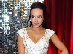 Stephanie Davis arrives for The British Soap Awards.