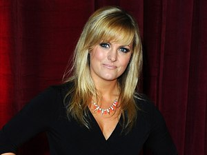 Jo Joyner arrives for The British Soap Awards.