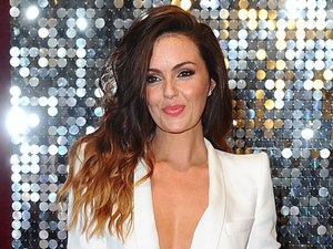 Jennifer Metcalfe arrives for The British Soap Awards.