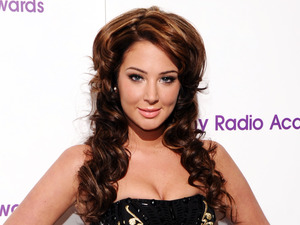 Tulisa Contostavlos, hair, Sony Radio Academy Awards, Grosvenor House Hotel in central London