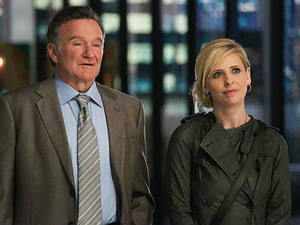 Robin Williams stars in 'The Crazy Ones'