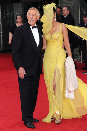 Bruce Forsyth, BAFTA TV Awards 2013, wardrobe malfunctions