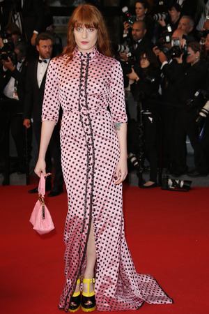 Florence Welch, 66th Cannes Film Festival, The Great Gatsby premiere