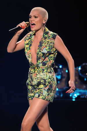 Jessie J, American Idol, plunging jumpsuit, American Idol Season 12 Finale, Los Angeles