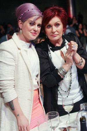 Kelly Osbourne and Sharon Osbourne attend the L.A. Gay and Lesbian Center's 'An Evening With Women' event held at the Beverly Hilton Hotel.