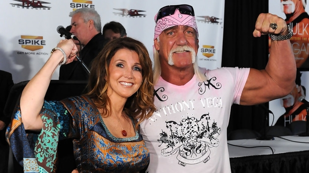 Dixie Carter with Hulk Hogan