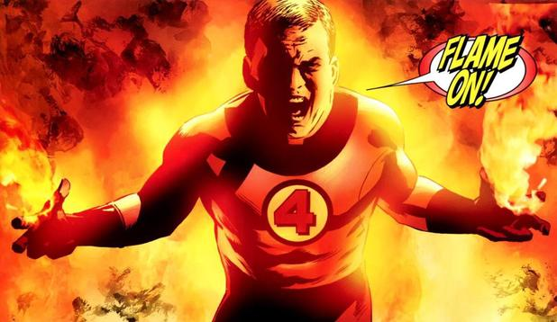 Human Torch Fantastic Four