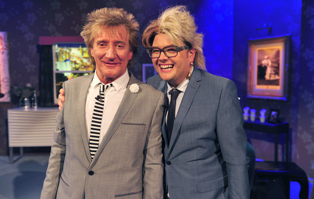 Rod Stewart on Alan Carr's 'Chatty Man'
