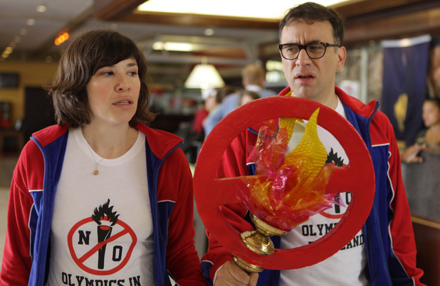 Carrie Brownstein & Fred Armisen in 'Portlandia'