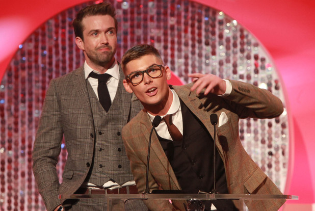 Kieron Richardson and Emmett J Scanlan