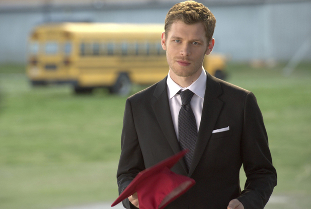 Joseph Morgan as Klaus in The Vampire Diaries S04E23: 'Graduation'