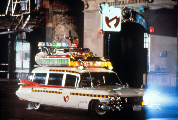 Ecto-1 - 1959 Cadillac Miller-Meteor from 'Ghostbusters'