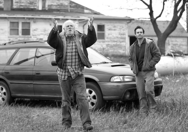 Bruce Dern and Will Forte in 'Nebraska'