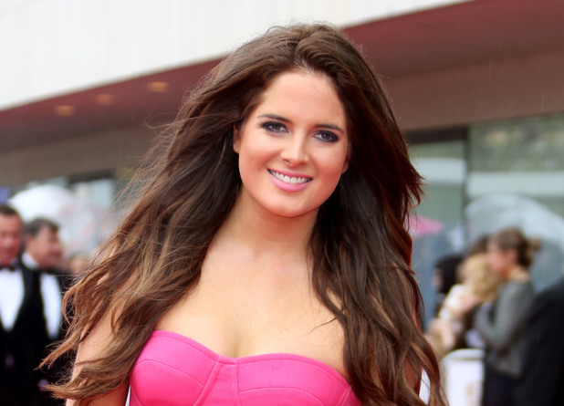 Binky, Made in Chelsea, pink jumpsuit, TV BAFTA Awards 2013