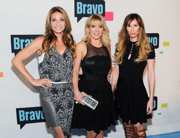 'Real Housewives of New York' cast members Heather Thomson, Ramona Singer and Carole Radziwill ~~ Bravo upfronts, April 2013