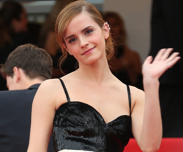 Emma Watson, monochrome gown, 66th Cannes Film festival, The Bling Ring, Chanel