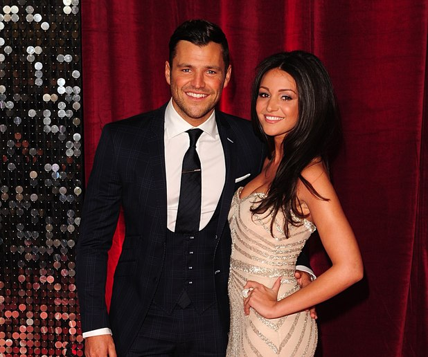 Mark Wright and Michelle Keegan arrive for The British Soap Awards.