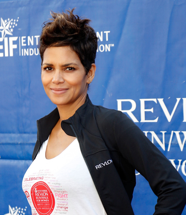 Halle Berry, quiff, Celebrities attend the 20th Annual EIF Revlon Run/Walk for Women