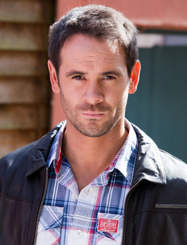 Ayden Callaghan as Joe Roscoe on Hollyoaks