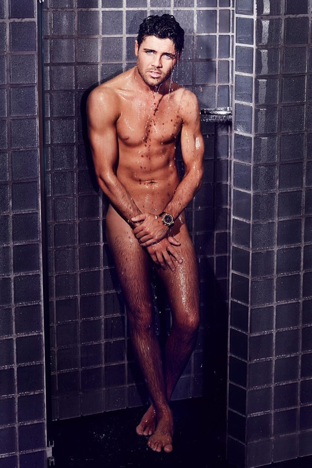 Tom Pearce goes naked for Now Magazine