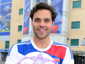 Andy Jordan, Made in Chelsea, celebrates one week to go until the UEFA Women&#39;s Champions League final, which takes place at Chelsea FC&#39;s Stamford Bridge