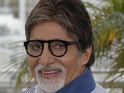 Bachchan was wearing a neck brace prompting speculation that he was injured.