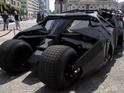 The Batmobile from the film 'Batman Begins'