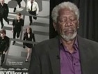 Morgan Freeman falls asleep during TV interview - watch