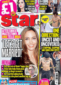 Star magazine cover - 27th May