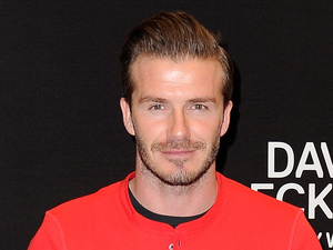David Beckham, H&M Bodywear Collection in Paris