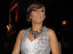 Frankie Sandford, The Hangover Part III premiere, London, baby bump, pregnant