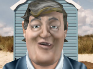 A screenshot of Stephen Fry&#39;s new iOS app